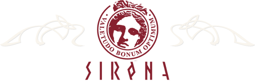 """Лого на МЕЖДУНАРОДНО СДРУЖЕНИЕ ПО БАЛНЕОЛОГИЯ И ТУРИЗЪМ """"СИРОНА"""""""